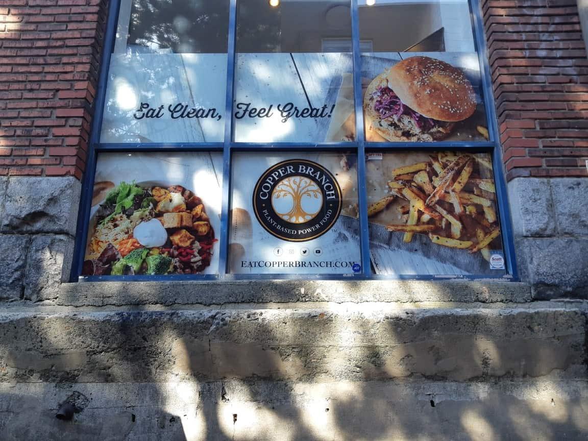 Storefront Branding Window Vinyl