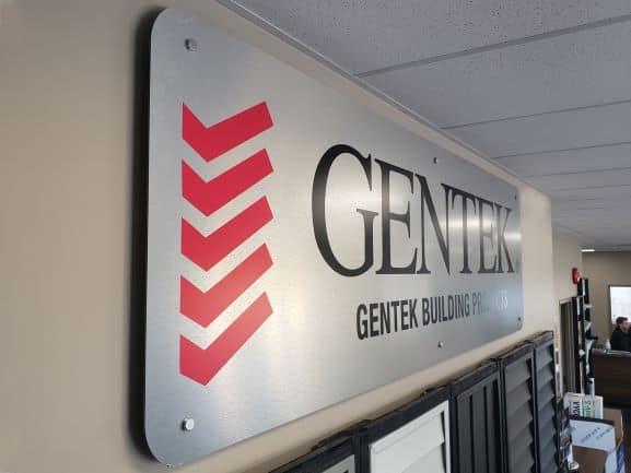 Office Branding Sign