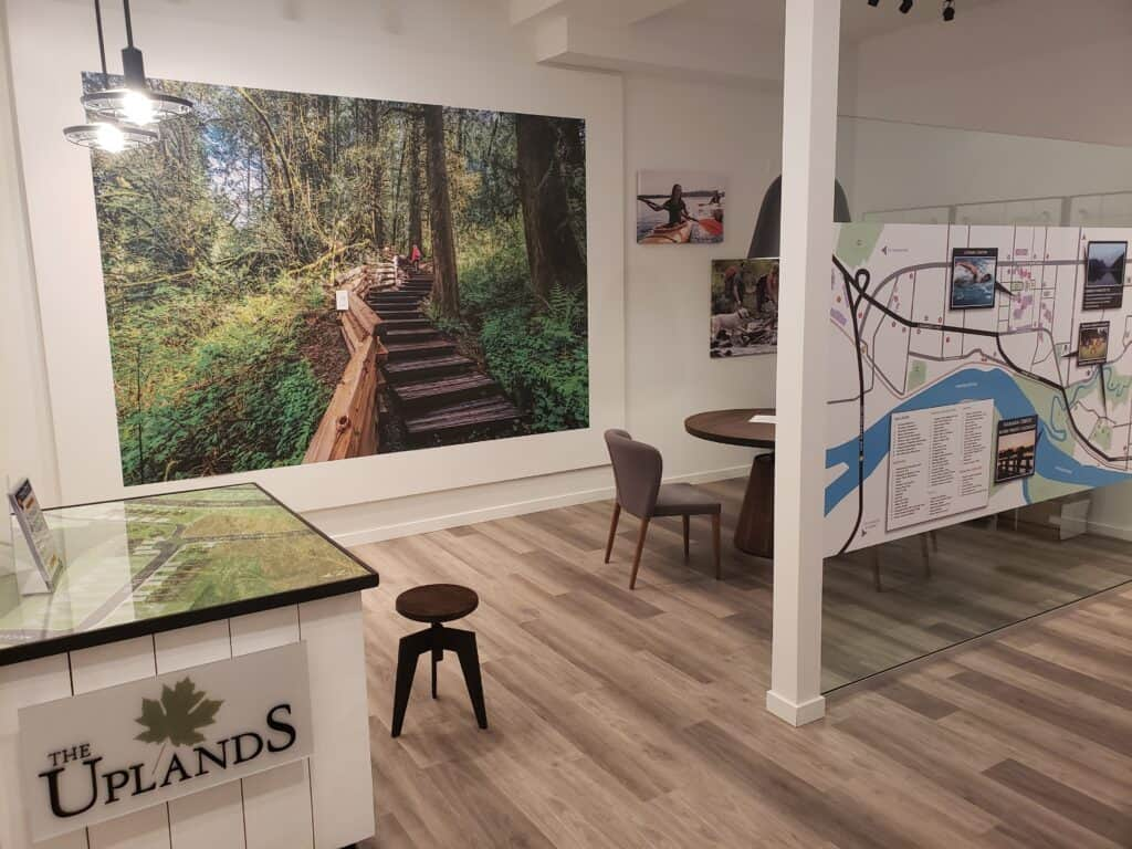 Indoor custom signage and graphics