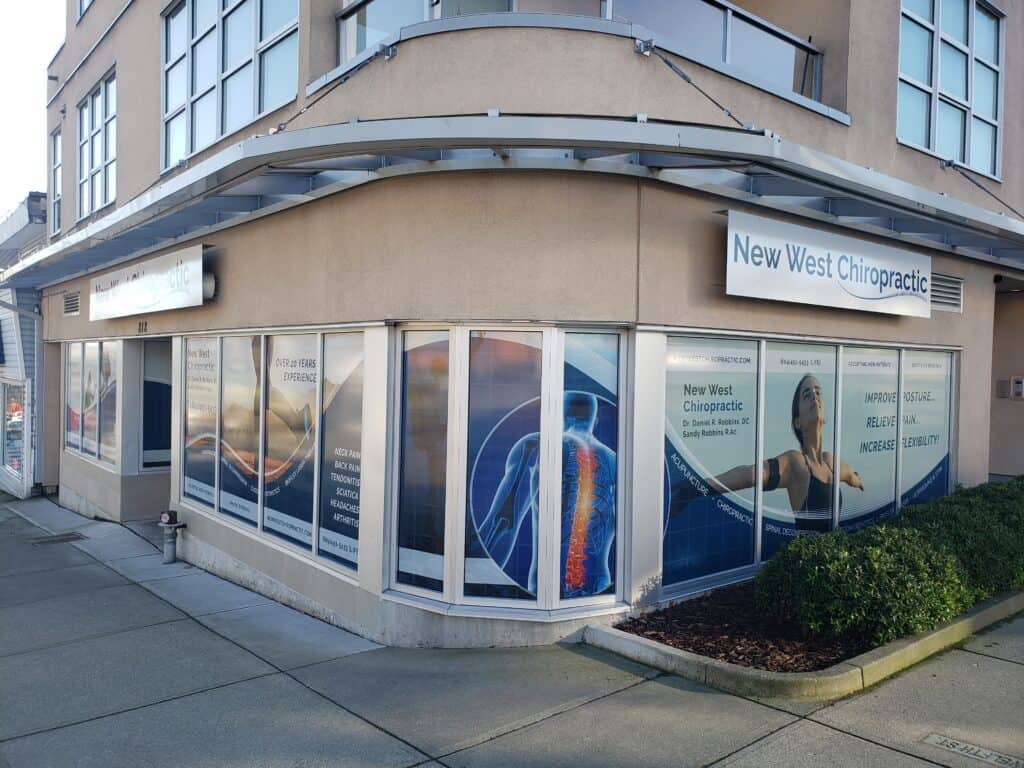 window graphics and store front sign
