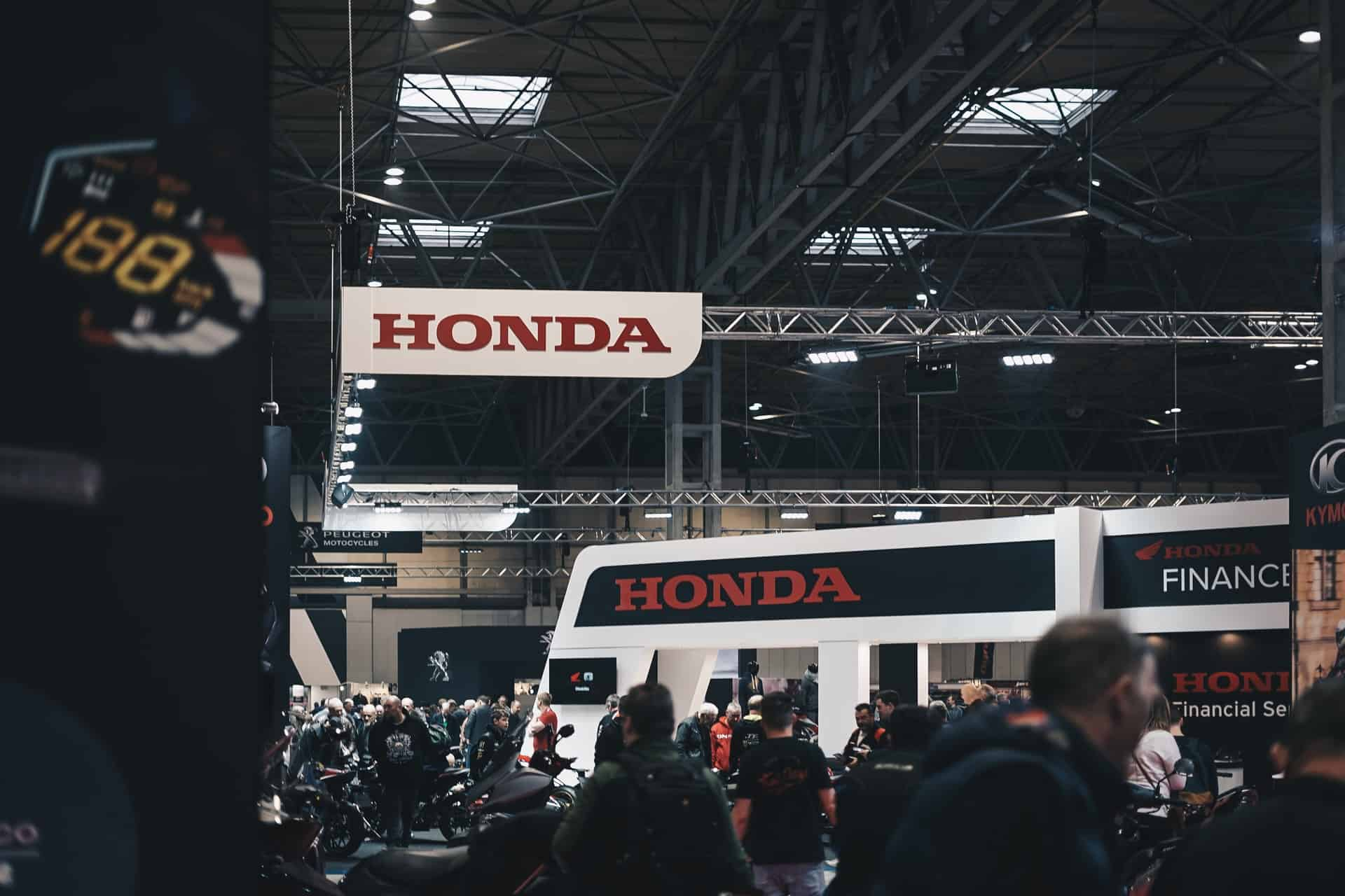 Honda trade show